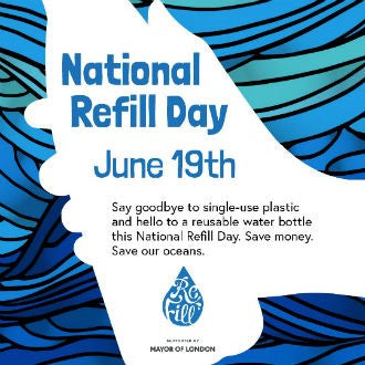 National Refill Day - water infuser