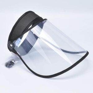 Game Changing Idea 32709 Black Adjustable Full Face Shield