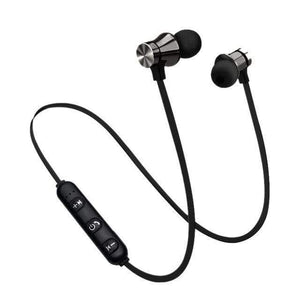 Game Changing Idea Black Bluetooth Earphones (neckband)