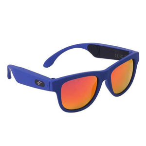 Game Changing Idea 63705 Blue frame red lens Bluetooth Sunglasses