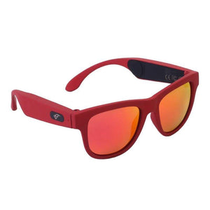 Game Changing Idea 63705 Red frame red lens Bluetooth Sunglasses