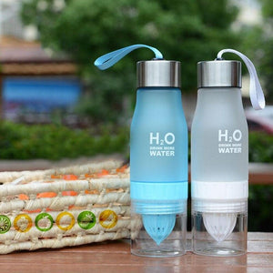 Game Changing Idea 650ml / Frosted White Frosted Infuser Water Bottles