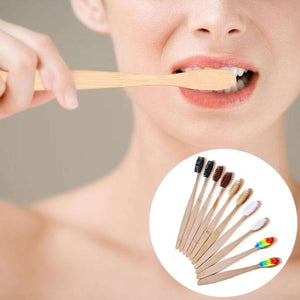 Game Changing Idea Genuine Bamboo Toothbrush
