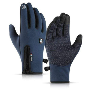 Game Changing Idea Blue / XL Gloves Running Touch Screen