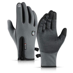 Game Changing Idea Grey / L Gloves Running Touch Screen