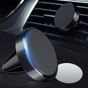 Game Changing Idea Black Magnet Car Vent Phone Holders