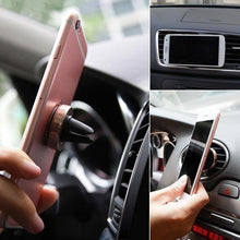 Load image into Gallery viewer, Game Changing Idea Gold Magnet Car Vent Phone Holders