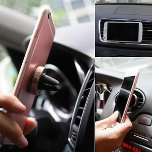 Game Changing Idea Gold Magnet Car Vent Phone Holders