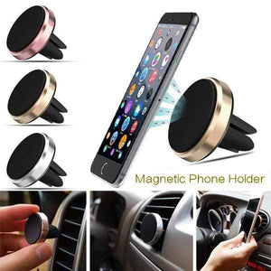 Game Changing Idea Silver Magnet Car Vent Phone Holders