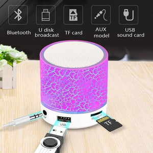 Game Changing Idea Mini Bluetooth LED Speaker