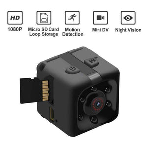 Game Changing Idea Black 1080P / Worldwide Mini Camera