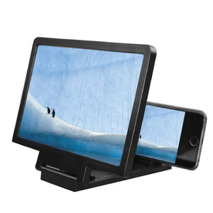 Game Changing Idea 190405 Worldwide / Black Mobile Phone Magnifier