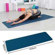 Load image into Gallery viewer, Game Changing Idea Deep Blue Non-slip Yoga Mats