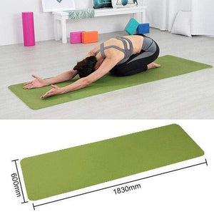 Game Changing Idea Green Non-slip Yoga Mats