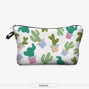 Game Changing Idea Cactus Pencil Cases & Makeup Bags
