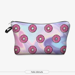 Game Changing Idea Doughnuts Pencil Cases & Makeup Bags