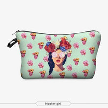 Load image into Gallery viewer, Game Changing Idea Flower Hair Girl Pencil Cases & Makeup Bags