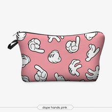 Load image into Gallery viewer, Game Changing Idea Hand Signs Pencil Cases & Makeup Bags