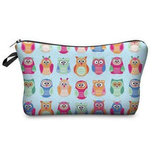 Load image into Gallery viewer, Game Changing Idea Owls Pencil Cases & Makeup Bags