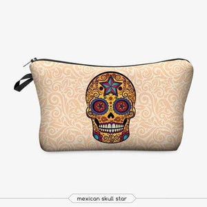 Game Changing Idea Skull Pencil Cases & Makeup Bags