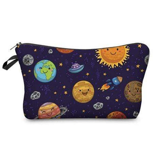 Game Changing Idea Solar System Pencil Cases & Makeup Bags