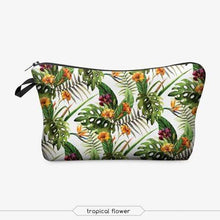 Load image into Gallery viewer, Game Changing Idea Tropical Flowers Pencil Cases & Makeup Bags