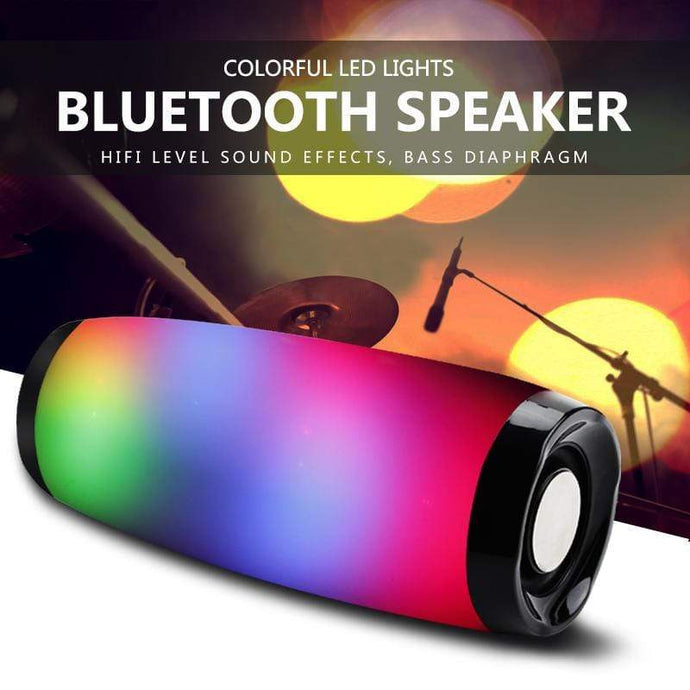Game Changing Idea Portable Bluetooth LED Speaker