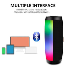 Load image into Gallery viewer, Game Changing Idea Portable Bluetooth LED Speaker