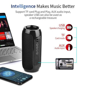 Game Changing Idea Portable Bluetooth Wireless Speaker