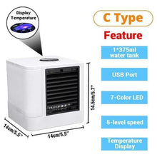 Load image into Gallery viewer, Game Changing Idea Portable USB Powered Mini Air Conditioner