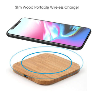 Game Changing Idea Qi Wireless Wood Charger