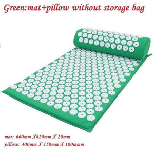 Game Changing Idea Green02 without bag Relaxing Yoga Mat