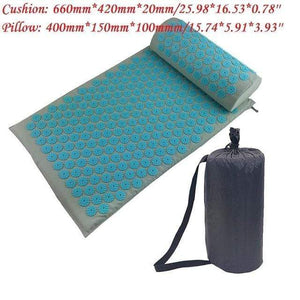 Game Changing Idea Light Blue Package with Bag Relaxing Yoga Mat