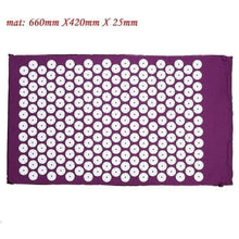 Load image into Gallery viewer, Game Changing Idea Purple Mat Relaxing Yoga Mat