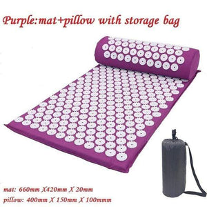 Game Changing Idea Purple Package with Bag Relaxing Yoga Mat