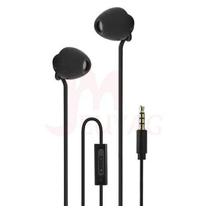 Game Changing Idea Black (mic + volume control) Sleep Earphones