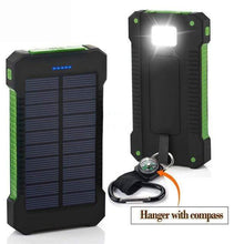 Load image into Gallery viewer, Game Changing Idea Green Solar Power Battery Pack 10000mAh