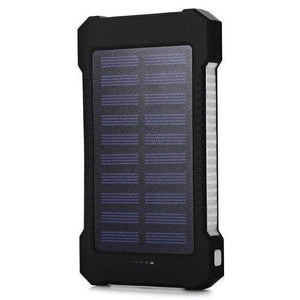 Game Changing Idea White Solar Power Battery Pack 10000mAh