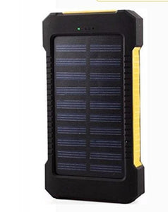 Game Changing Idea Yellow Solar Power Battery Pack 10000mAh