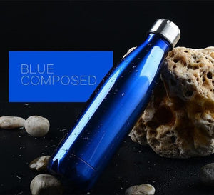 Game Changing Idea 350ml / Blue Stainless Steel Water Bottle