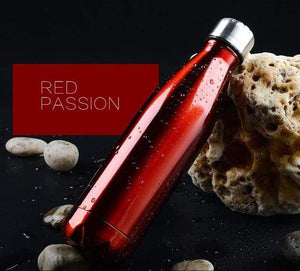 Game Changing Idea 350ml / Red Stainless Steel Water Bottle