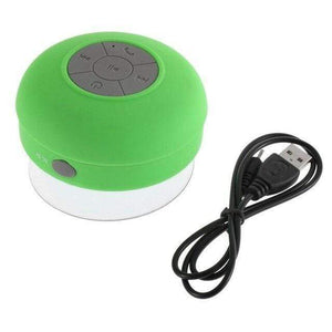 Game Changing Idea Green Suction Mount Bluetooth Speaker