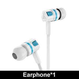 Game Changing Idea White Earphone Wired Earphones