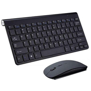 Game Changing Idea Black Keyboard & Mouse Wireless Keyboard and Mouse