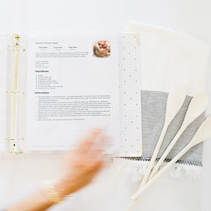 Printable Recipe Binder