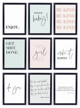 Load image into Gallery viewer, FREE Gallery Wall Art Printables Set {14 Pages}