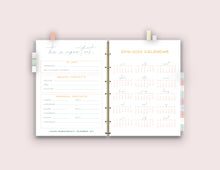 Load image into Gallery viewer, LIMITED TIME SALE - College Organization Binder {58 Pages}