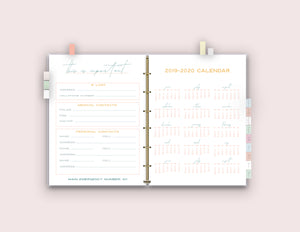 LIMITED TIME SALE - College Organization Binder {58 Pages}