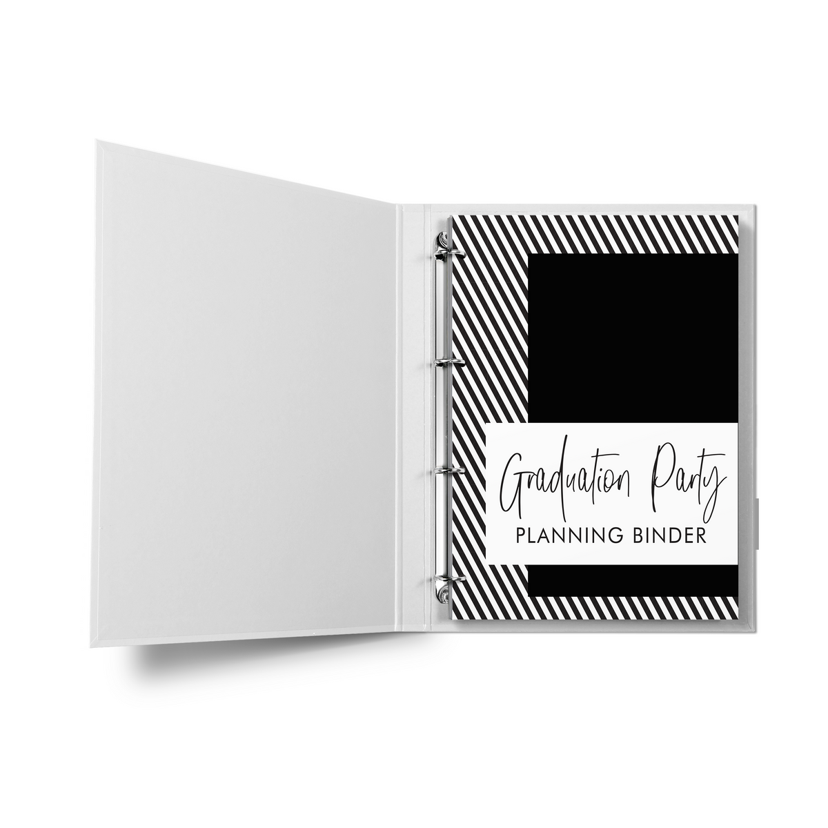 Graduation Party Planner Binder {50+ Pages}