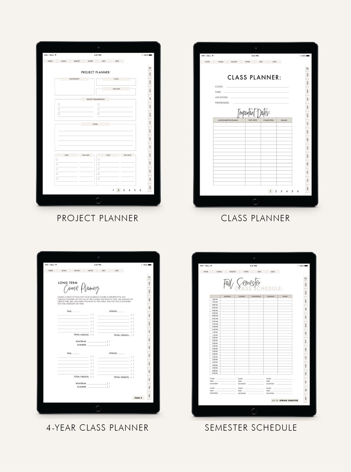 LIMITED TIME DEAL: iPad College Planner